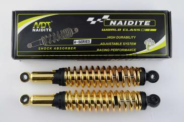 Амортизаторы (пара)   Delta   340mm, регулируемые   (золотистые)   NDT