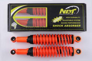 Амортизаторы (пара)   Delta   340mm, регулируемые   (оранжевые)   NDT