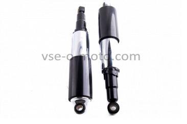 Амортизаторы (пара)   ЯВА   320mm, регулируемые, закрытые, черные   VCH