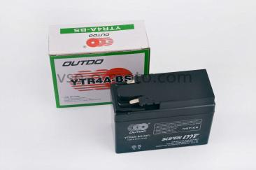 АКБ   12V 2,3А   пастовый, Honda   (115x49x86, ``таблетка``, черный)   OUTDO   (#GML)
