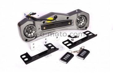 Аудиосистема   траверсная   (2, 2*5W черные, сигнализация, МР3/USB/SD)   mod:MT482   NEO