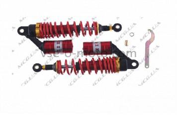 Амортизаторы (пара) универсальные 020mm, газомасляные (красные) NET (#0001)