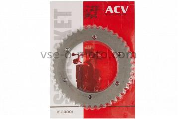 Звезда трансмиссии (задняя)   ВОСХОД   428-43T   (сталь 20)   ACV