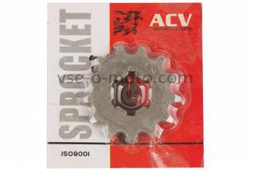 Звезда трансмиссии (передняя)   ВОСХОД   428-13T    (сталь 20)   ACV