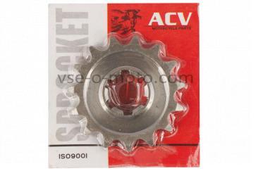 Звезда трансмиссии (передняя)   ВОСХОД   428-15T   (сталь 20)   ACV