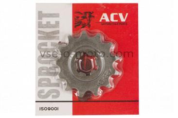 Звезда трансмиссии (передняя)   МУРАВЕЙ   428-13T   (сталь 20)   ACV