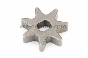 Звезда электропилы (венец привода)   (D-35, d-8/10, H-8mm)   Мастер, Данило   JIANTAI