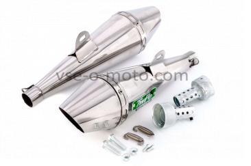 Глушитель (тюнинг)   340mm   (нержавейка, сопло, прямоток)   118