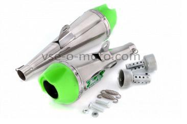 Глушитель (тюнинг)   340mm   (нержавейка, сопло, прямоток mod:3)   118