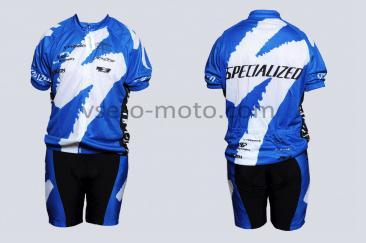 Велокостюм   (mod:Specialized, size:XL)   COOLMAX