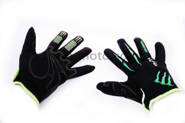 Перчатки   MONSTER ENERGY   (mod:2, size:L, черные)