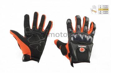 Перчатки   SCOYCO   (mod:MC-09, size:L, красные, текстиль)