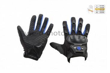 Перчатки   SCOYCO   (mod:HD-09, size:L, синие, текстиль)