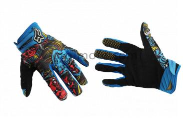 Перчатки   FLEXAIR   (mod:03166, size:M, синие)   FOX