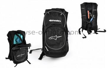 Рюкзак   ALPINESTARS   (mod:B-5, поилка, термобарьер, черно-белый)